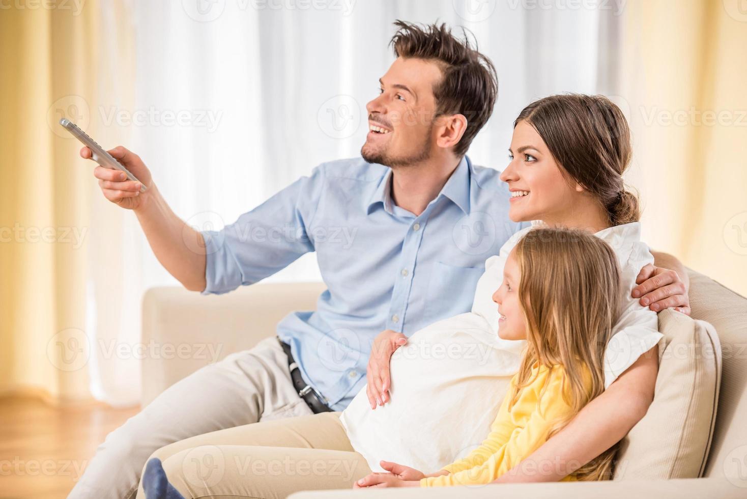 familia feliz foto