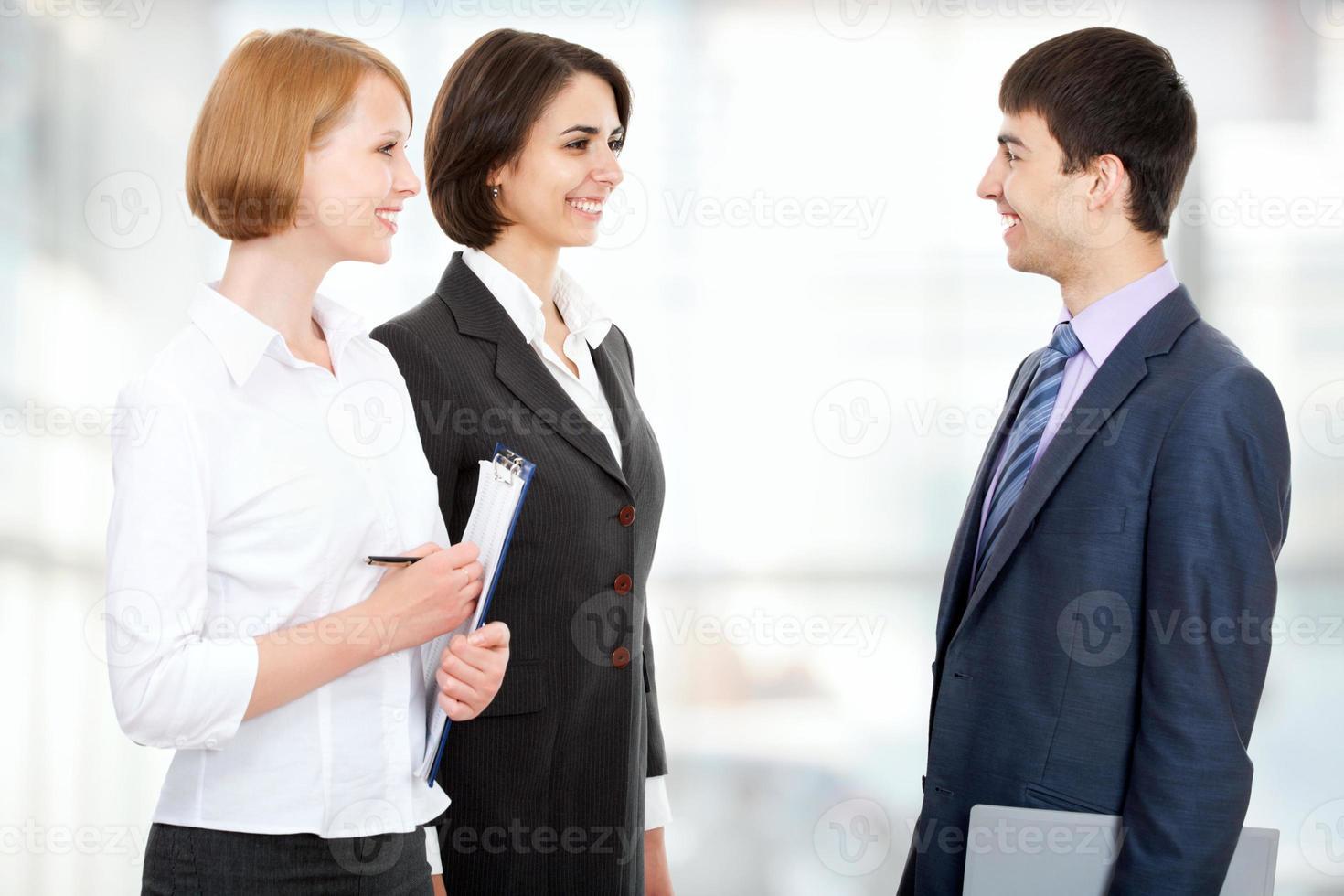 equipo de negocios foto