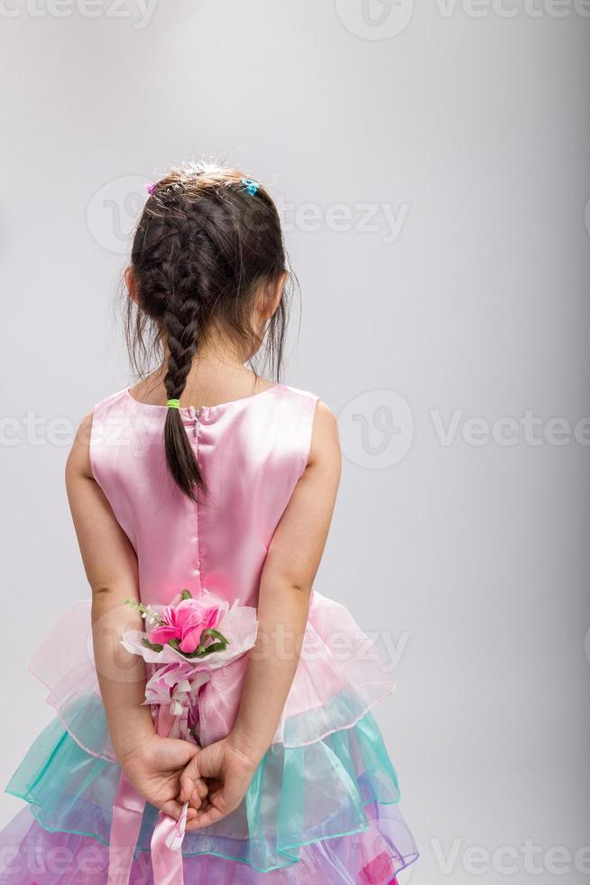 flor de explotación infantil, vista trasera / flor de explotación infantil foto