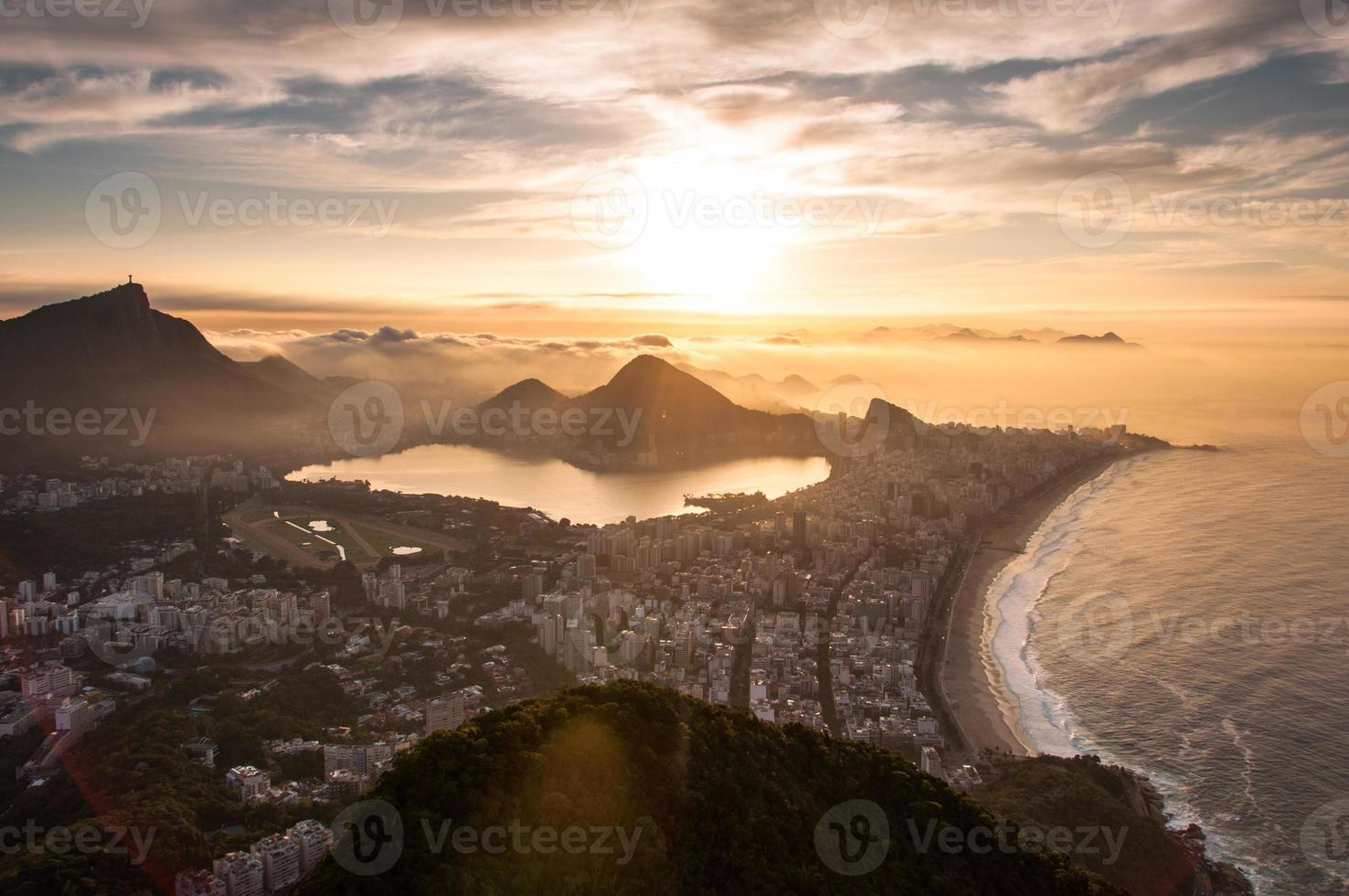 Rio de janeiro amanecer foto