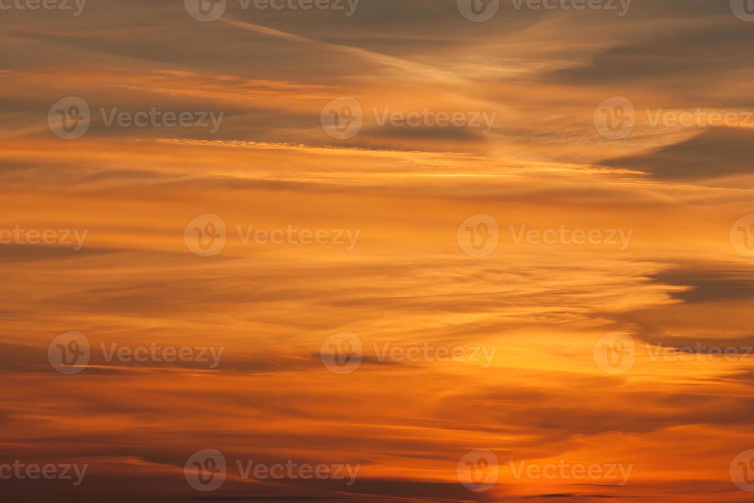 Dramatic sunset photo
