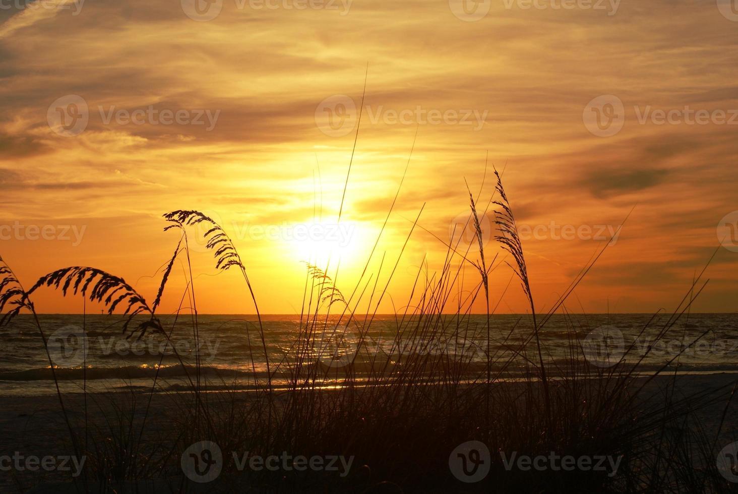 puesta de sol de florida foto