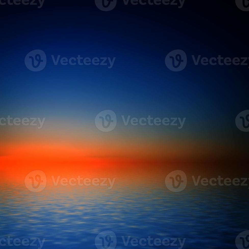 Sunset sky. photo