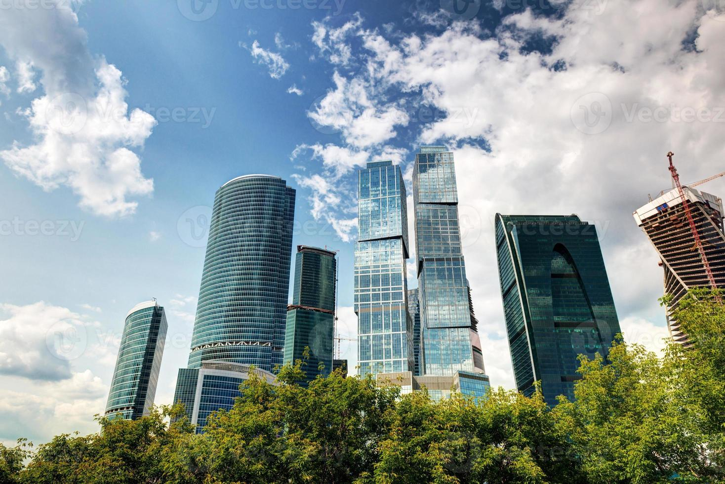 Moscow-city (Moscow International Business Center) photo