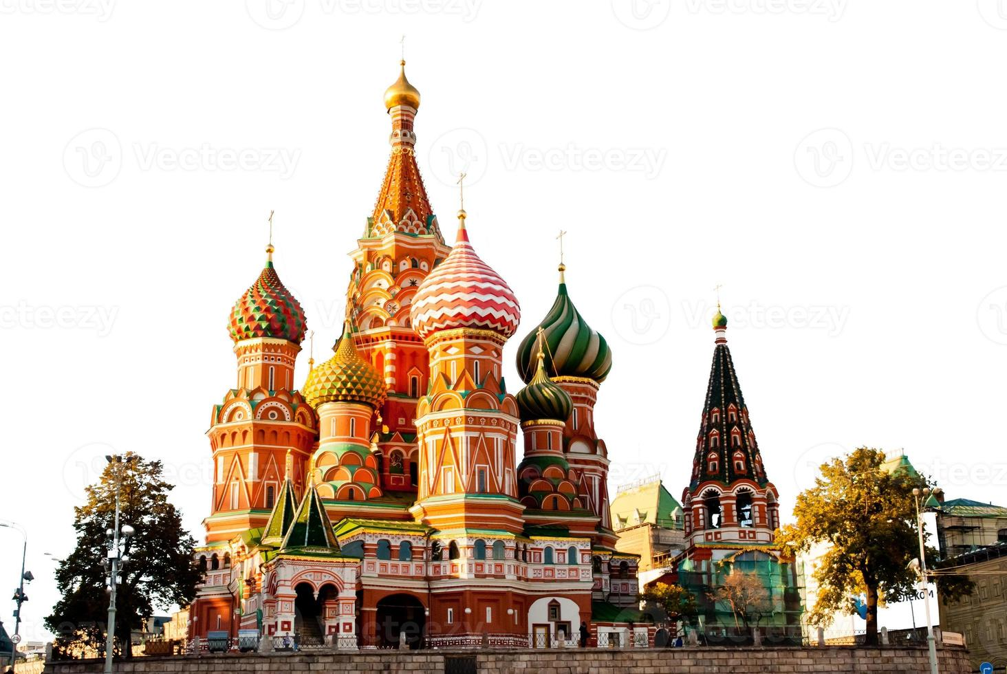 St. Basil Cathedral, Red Square, Moscow photo