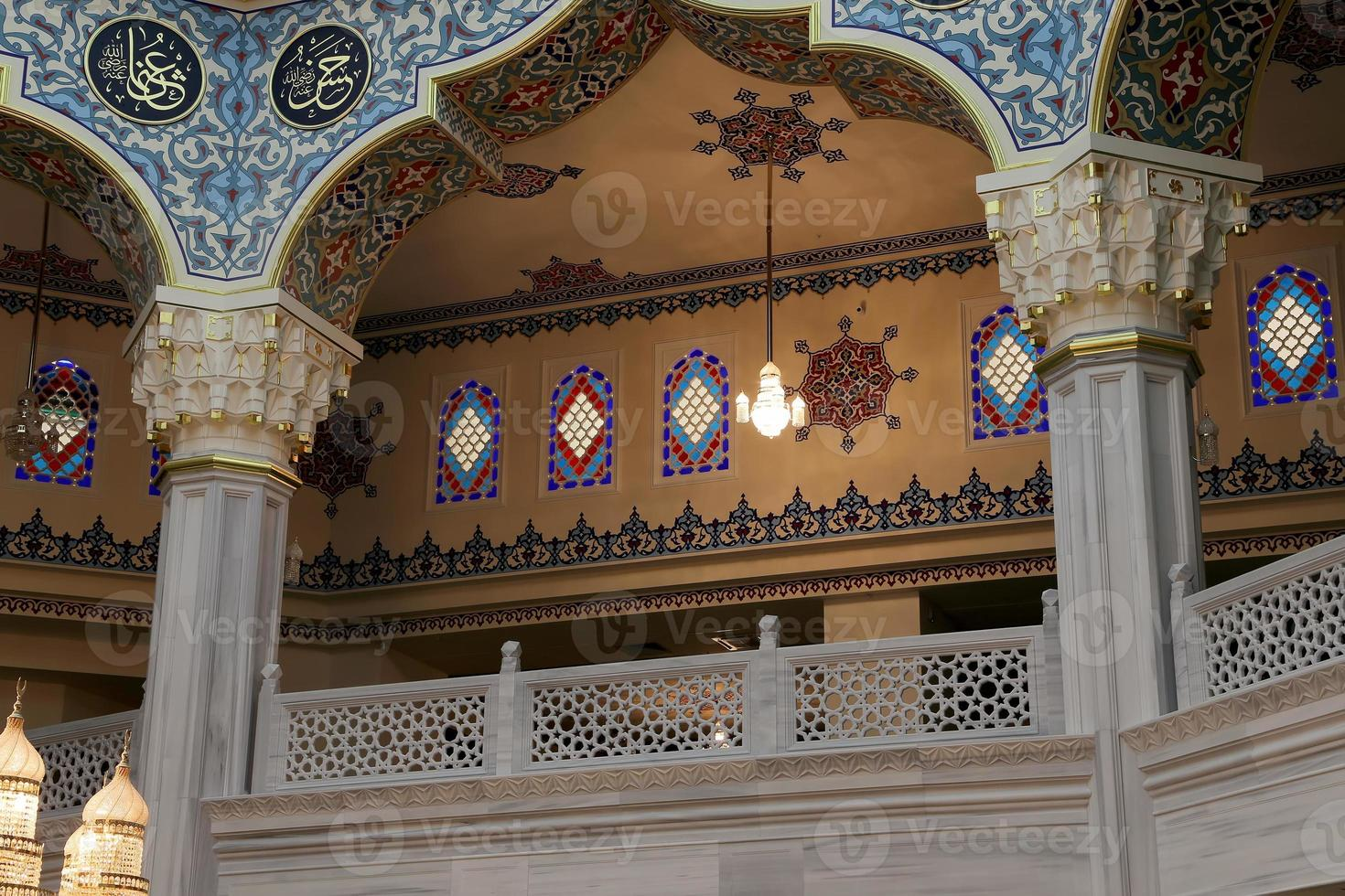 Moscow Cathedral Mosque (interior), Russia photo