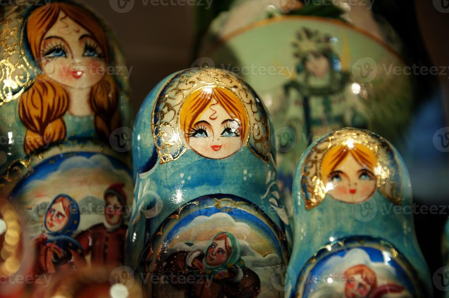 muñecas matryoshka foto