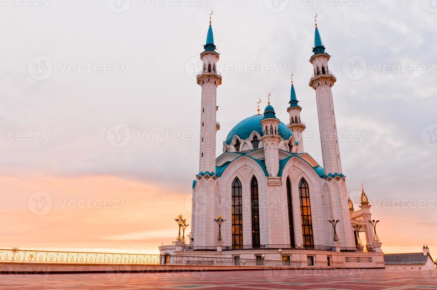 """Mosque """"Kul Sharif"""" in Kazan Kremlin, Tatarstan, Russia photo"""