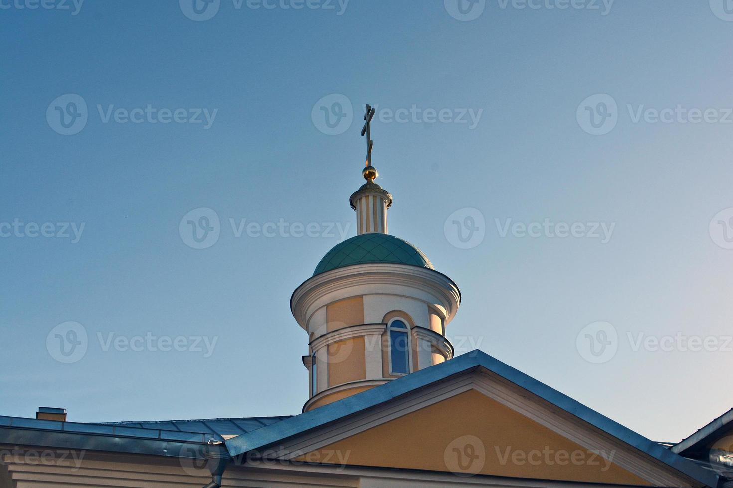 Orthodox bell tower photo