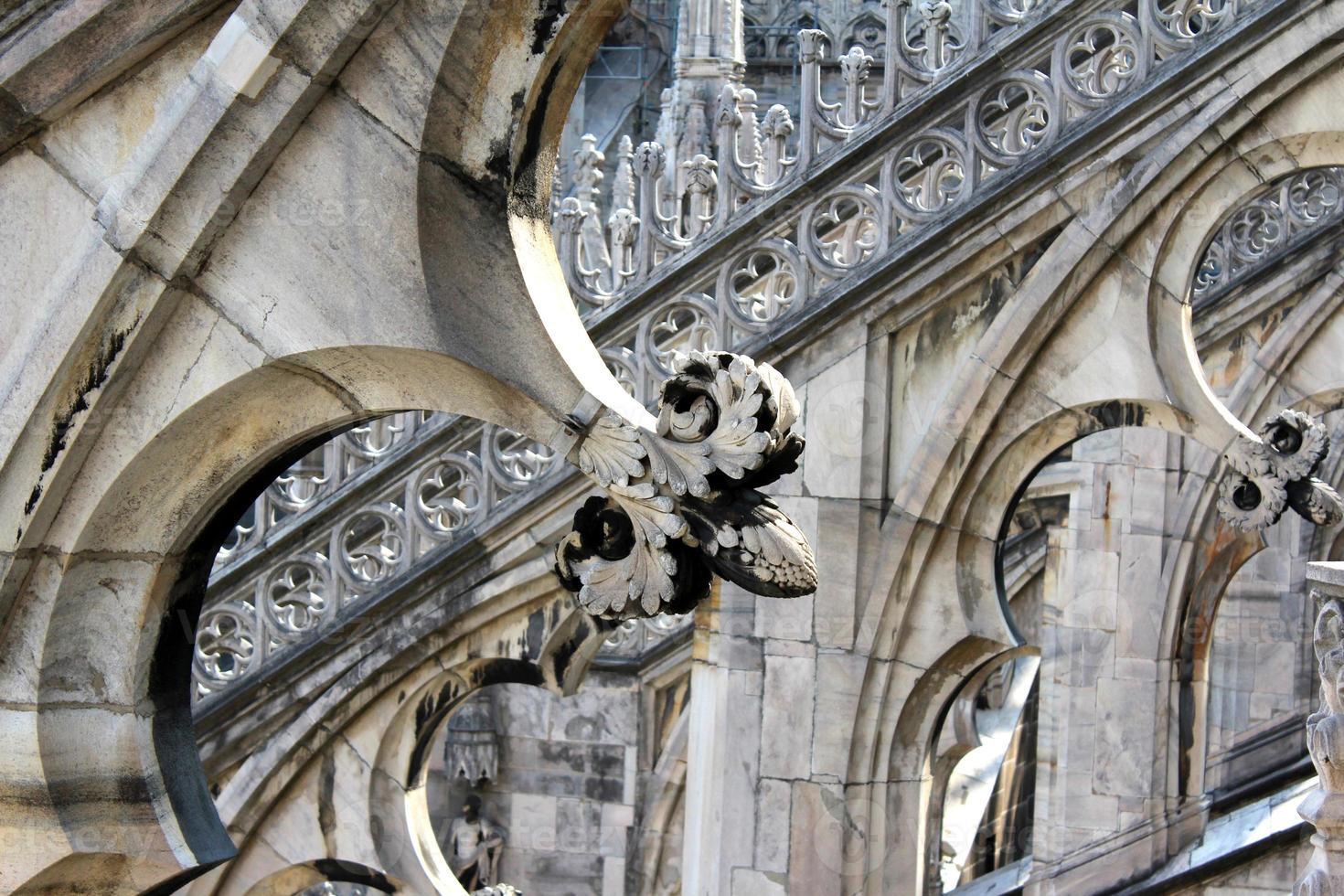 catedral de milán, duomo di milano, italia foto
