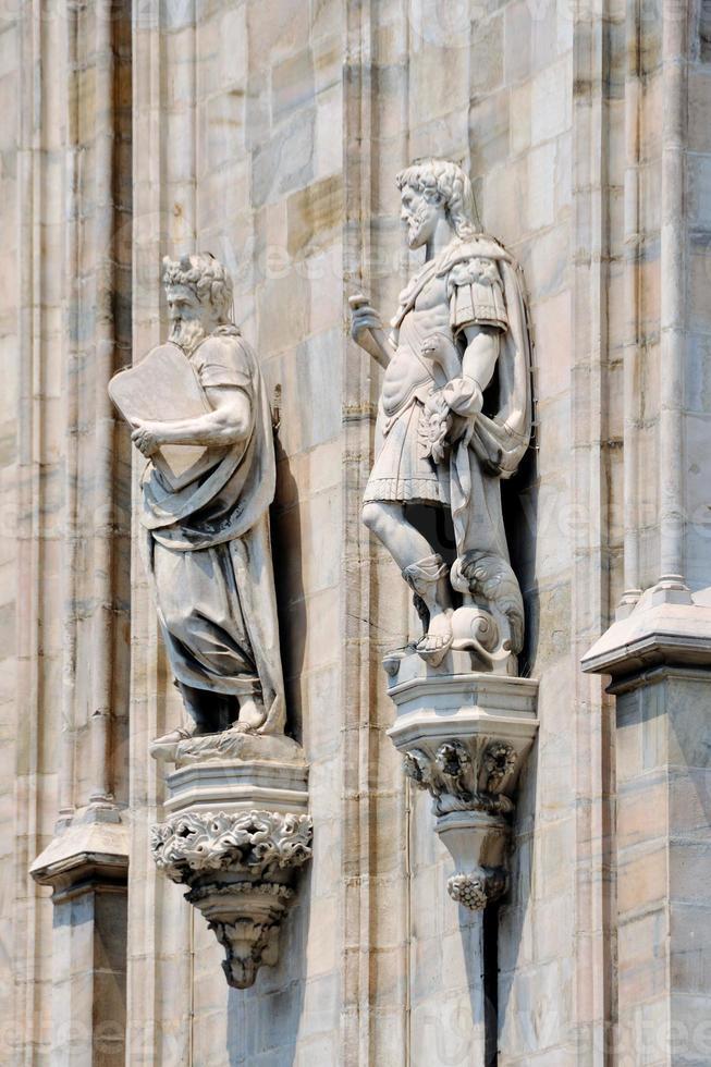 Duomo de la catedral, Milán, Italia foto