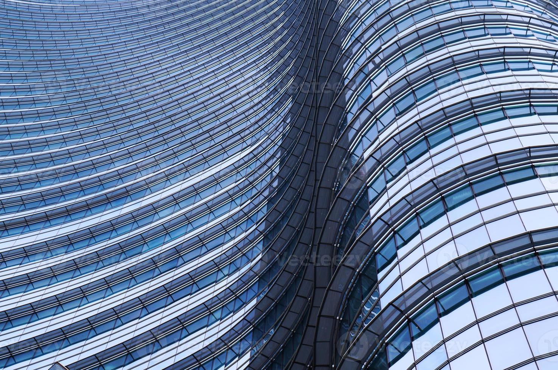 la imagen de un moderno edificio de oficinas foto