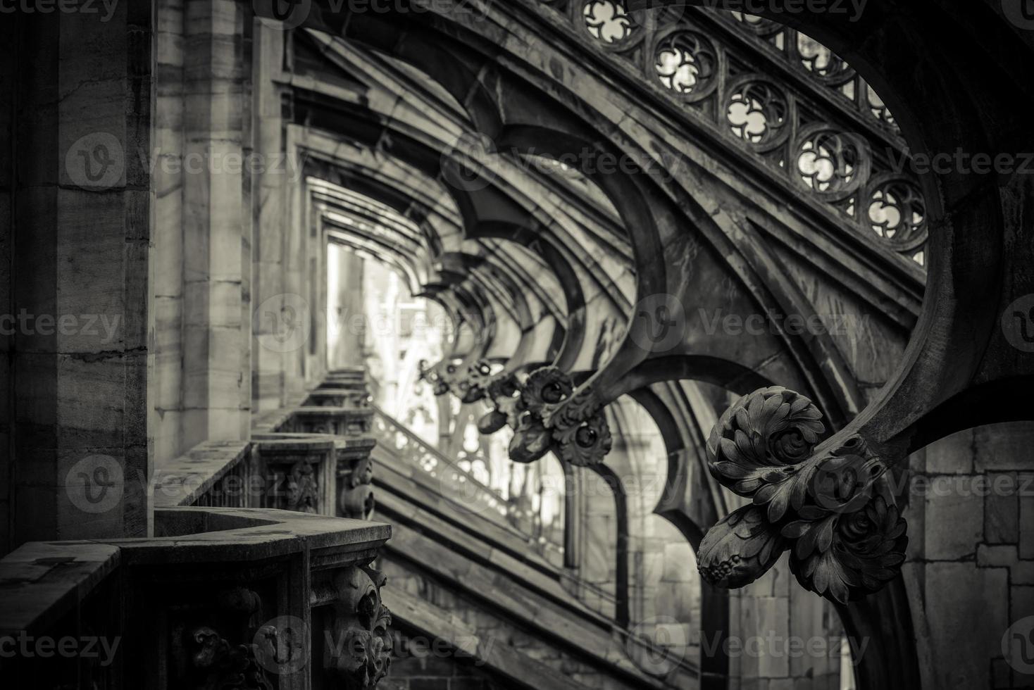 Catedral del Duomo de Milán - detalle foto