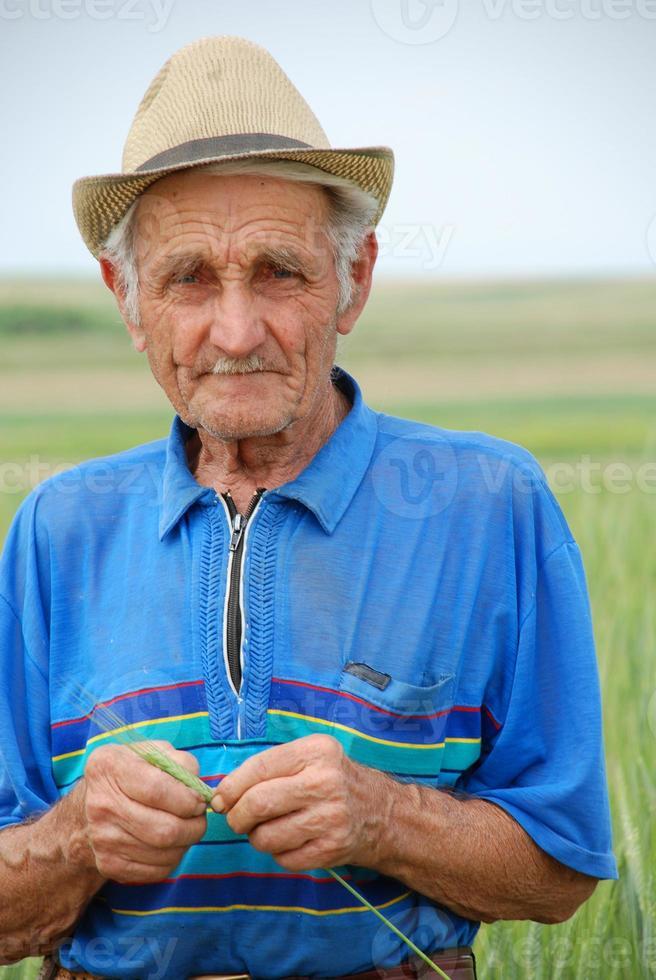 el viejo granjero foto