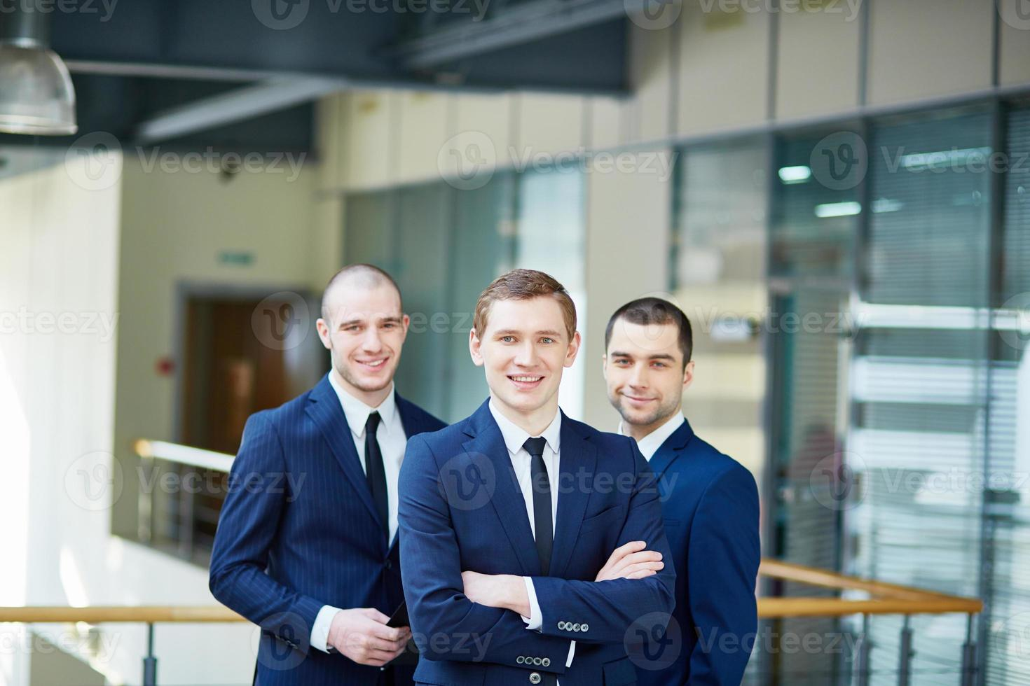 Successful business team photo