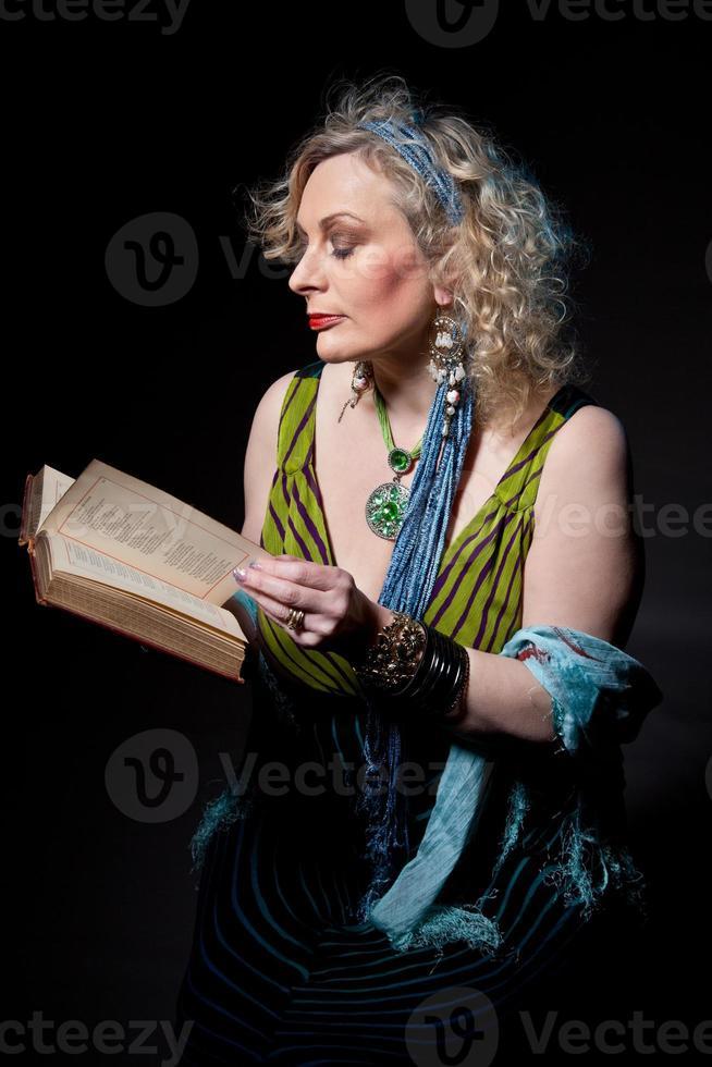 Female Storyteller (mature) photo