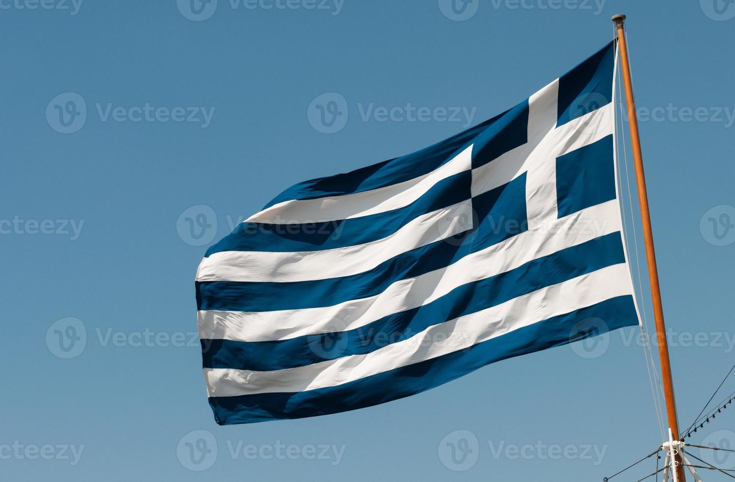Greek Flag photo