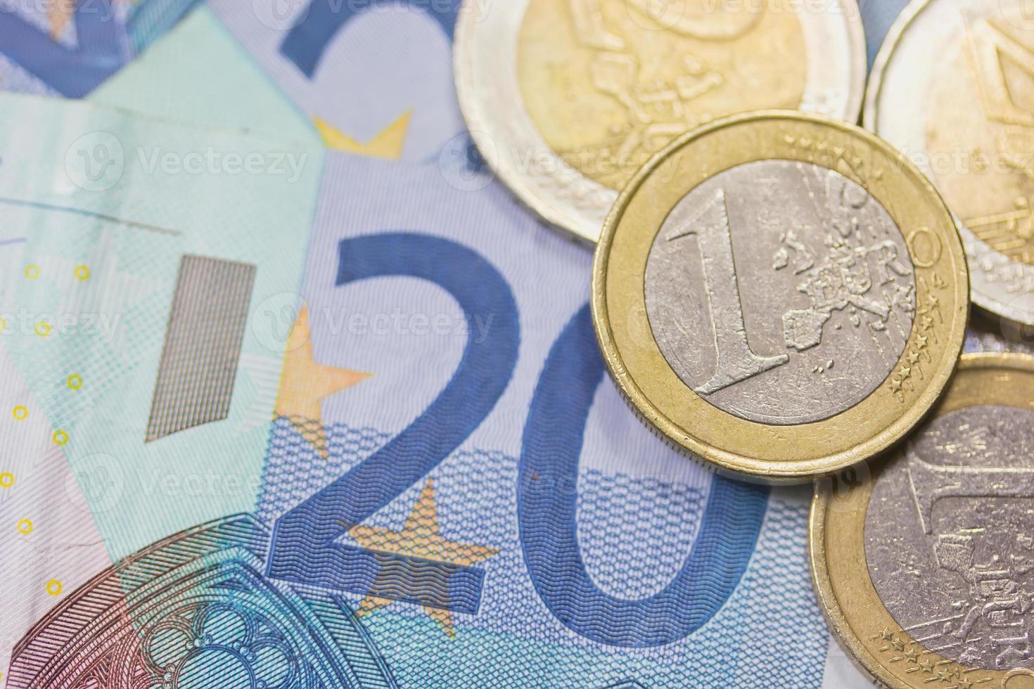 Euros money photo