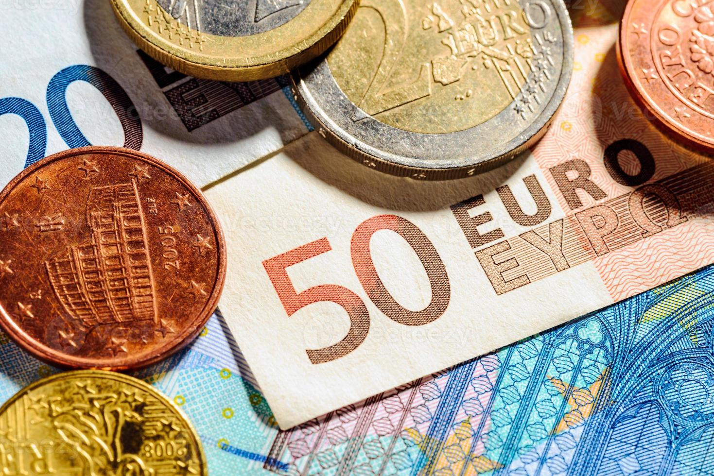 dinero euro foto