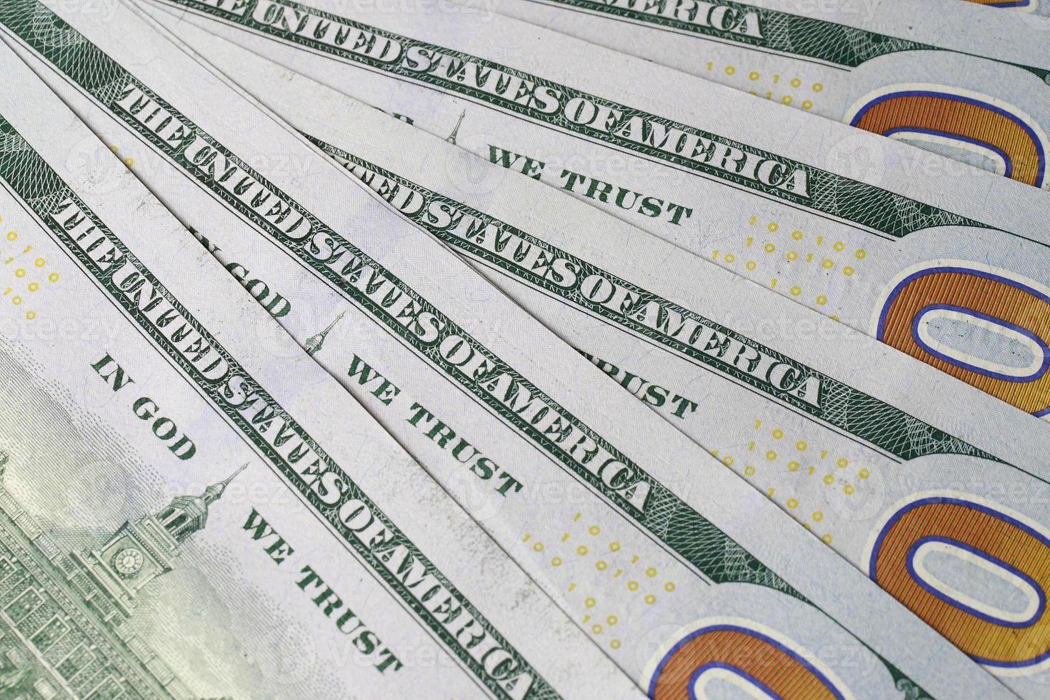 dinero dólar foto
