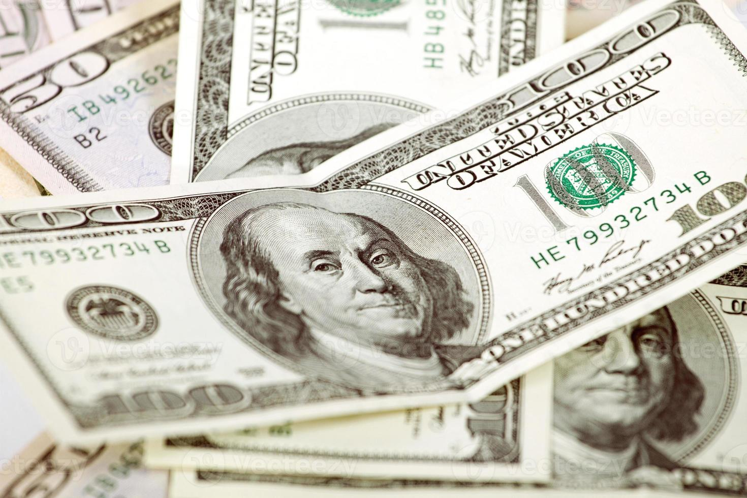 Abstract Dollars Background photo