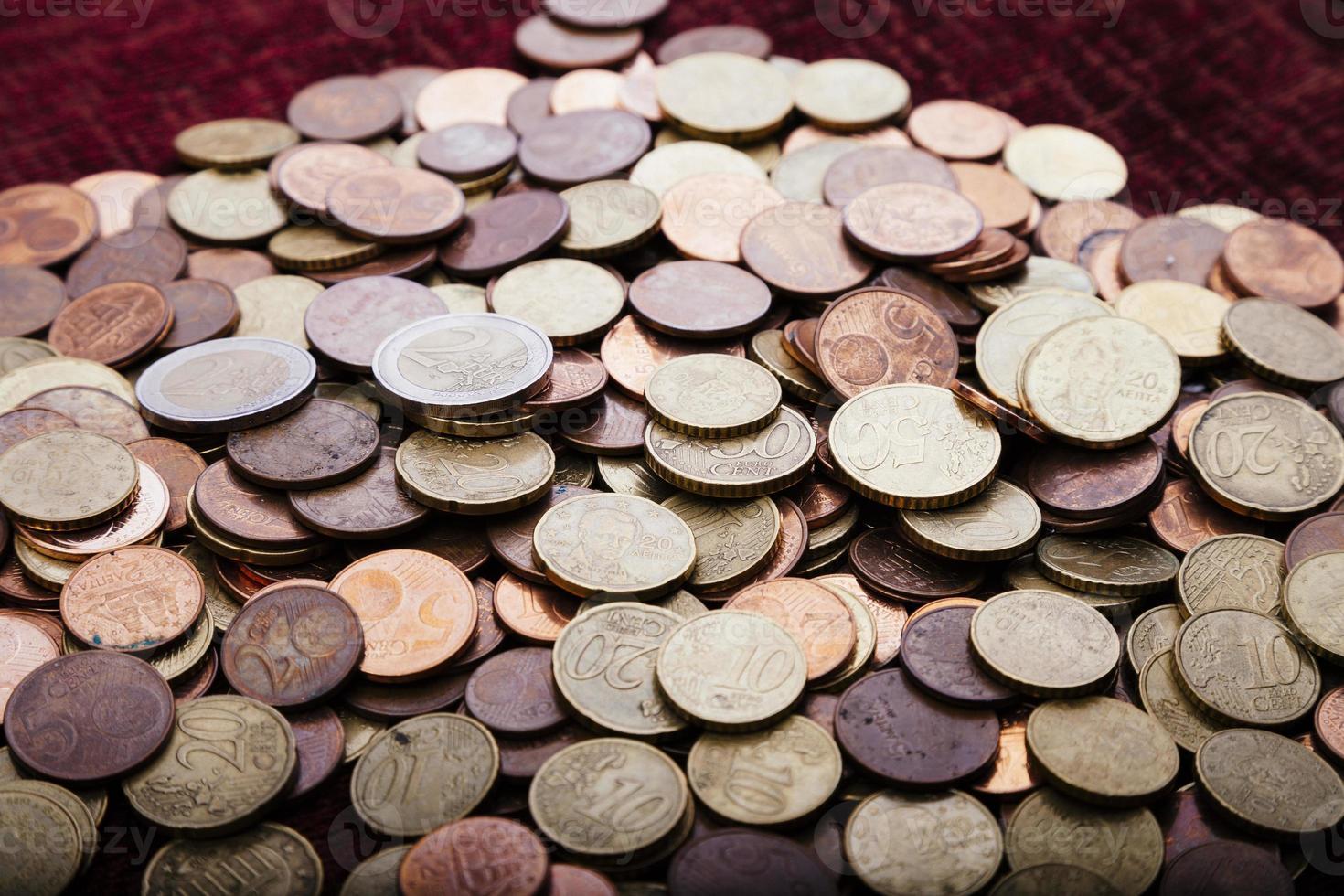 Money: Euro Coins photo