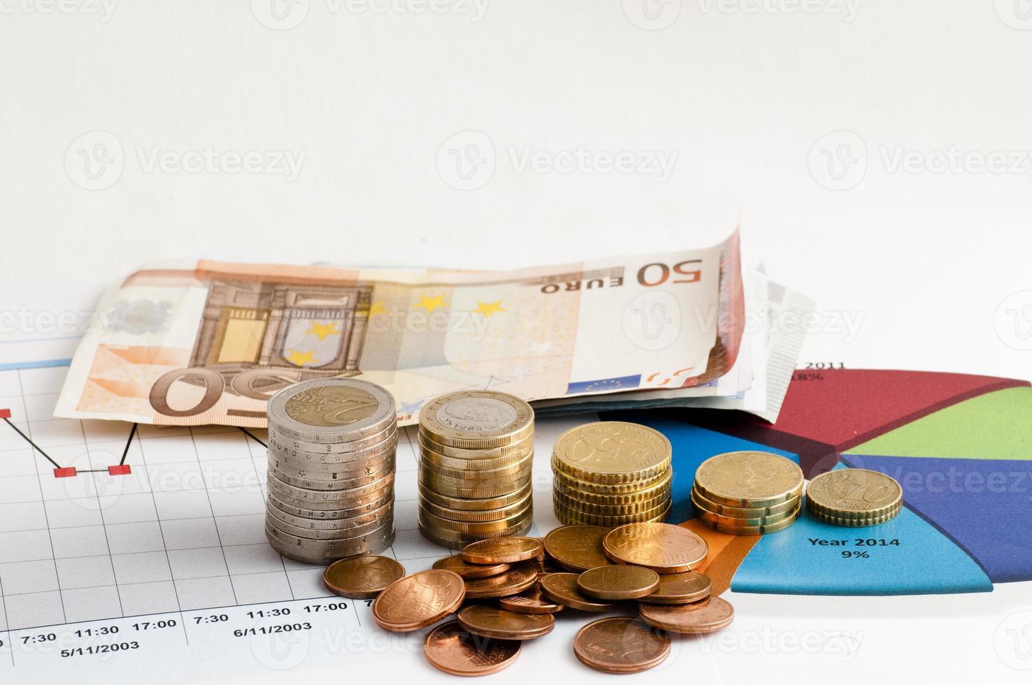 dinero y desempeño financiero foto