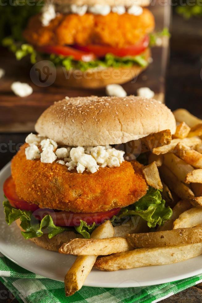 Homemade Buffalo Chicken Sandwich photo