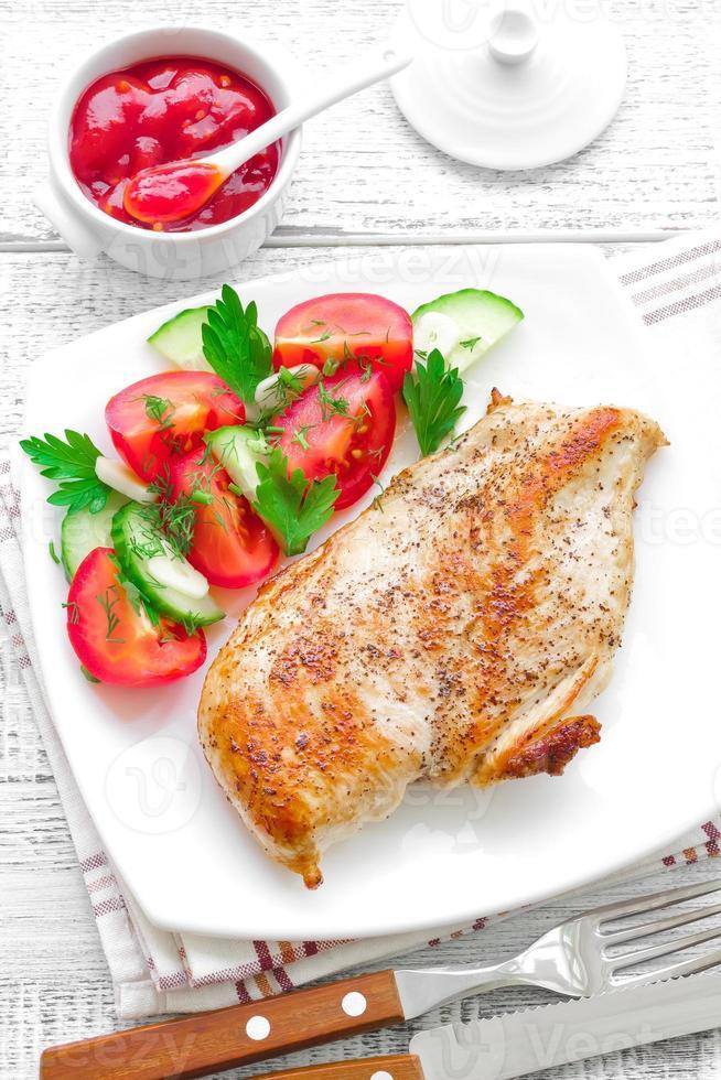 pechuga de pollo foto