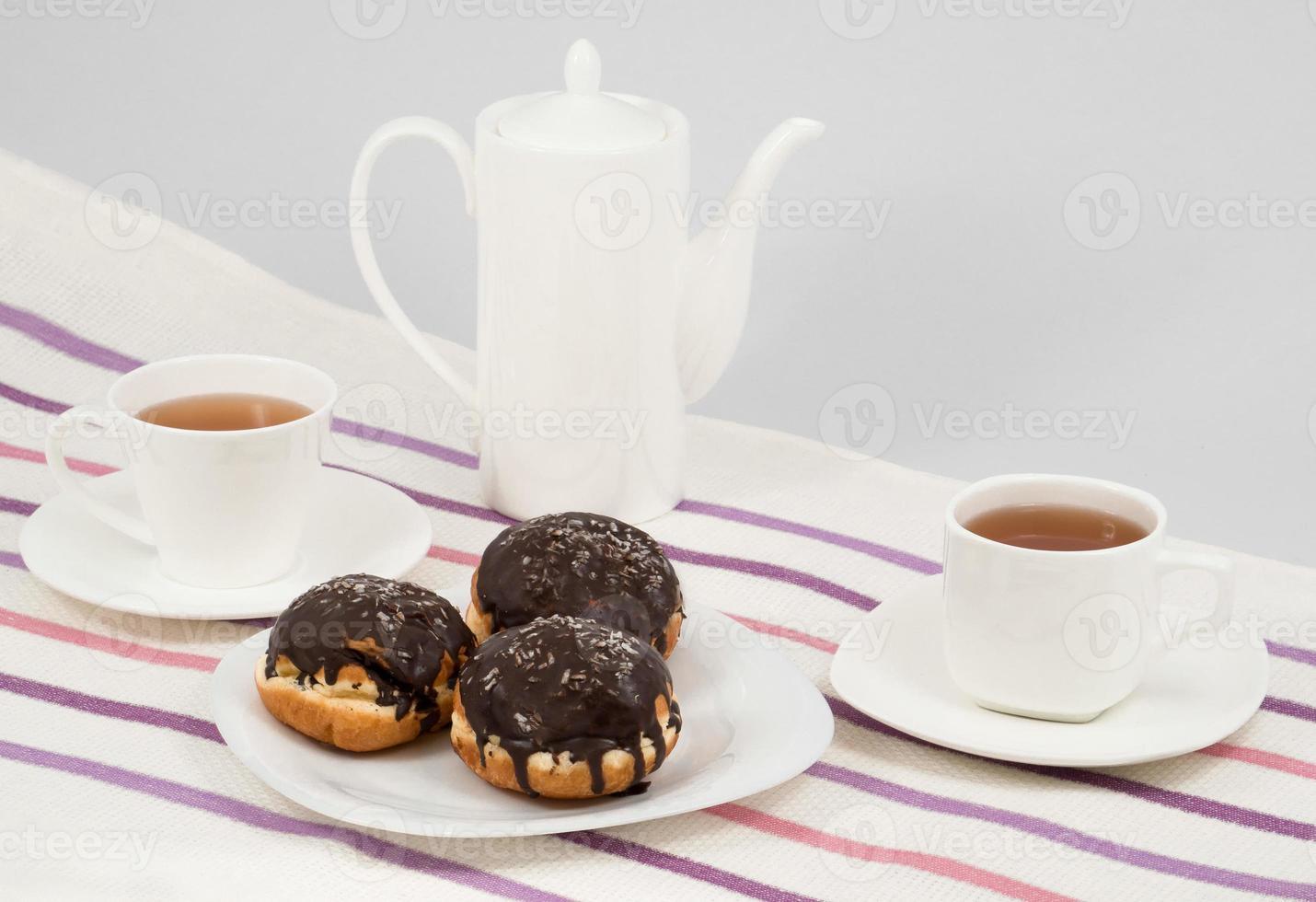 rosquillas y café foto