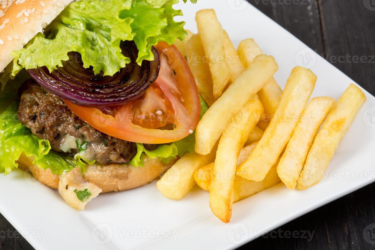 hamburguesa foto