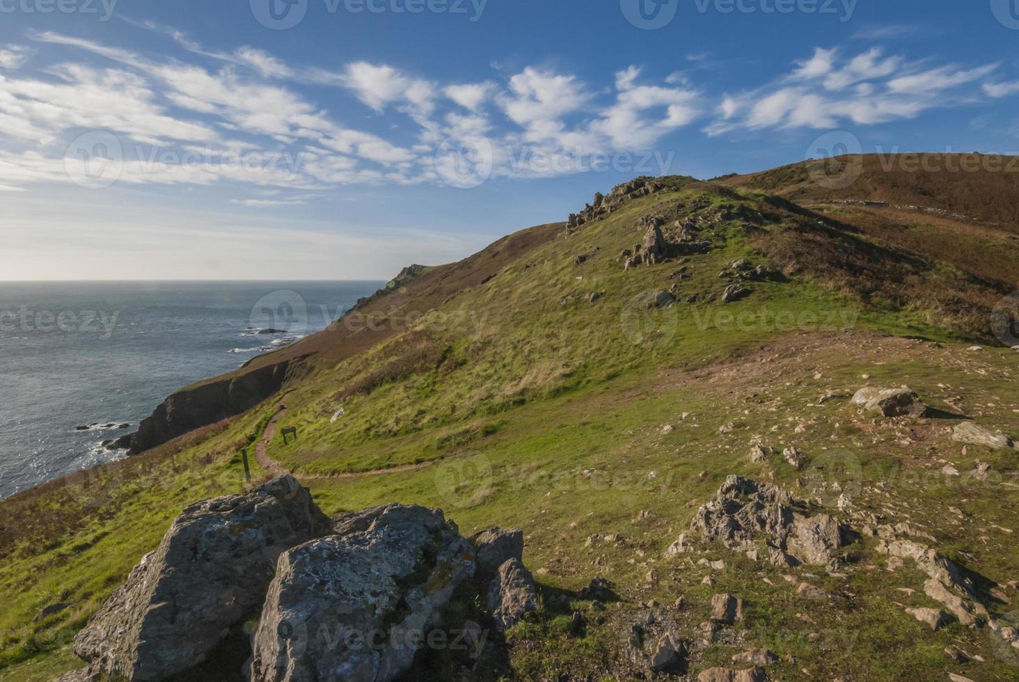 Coastal Path on a Clifftop photo