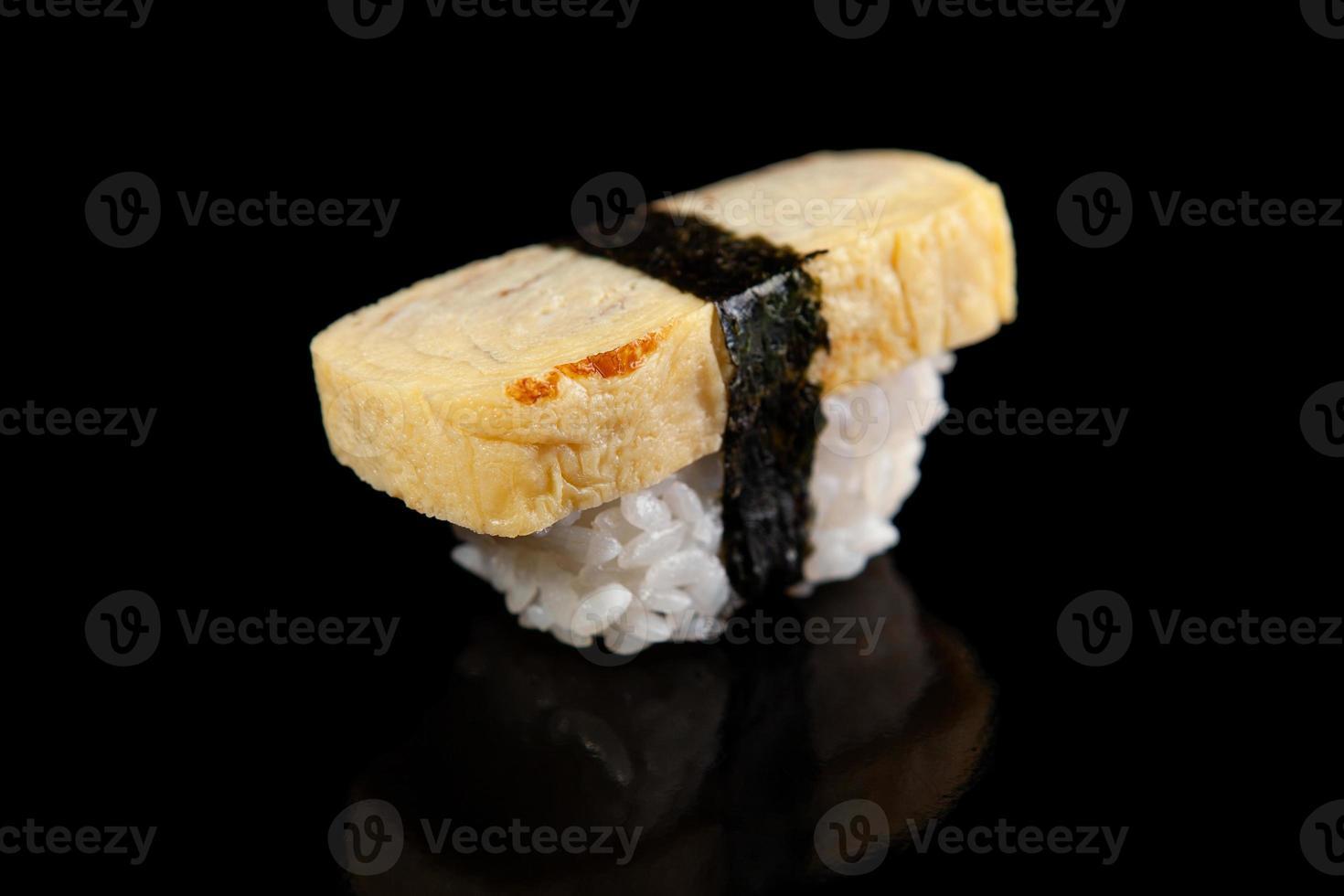 Tamako egg sushi photo