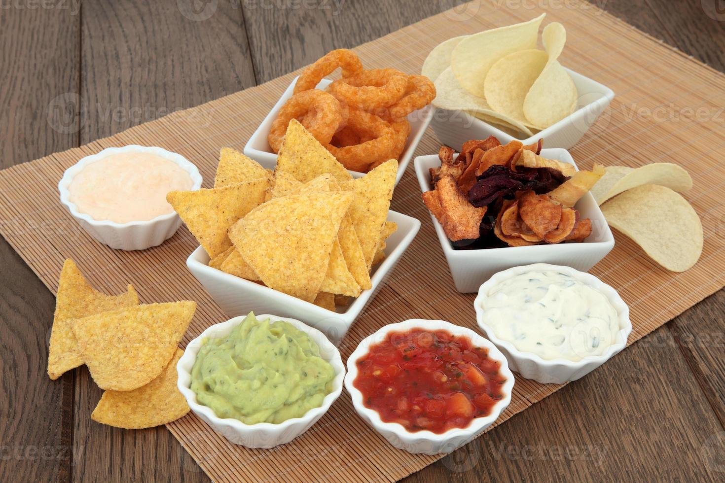 Crisps and Dips photo