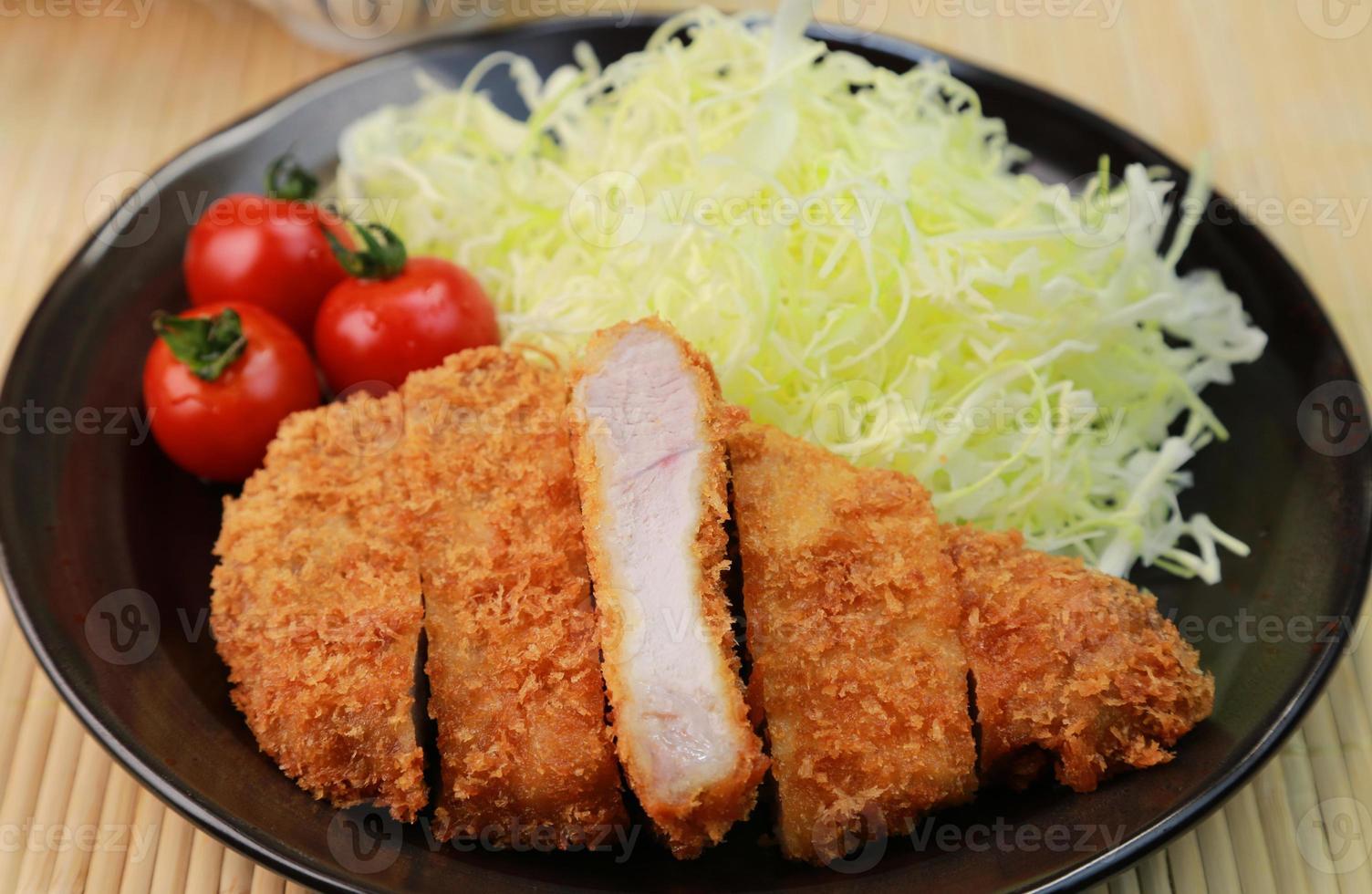 Pork cutlet photo