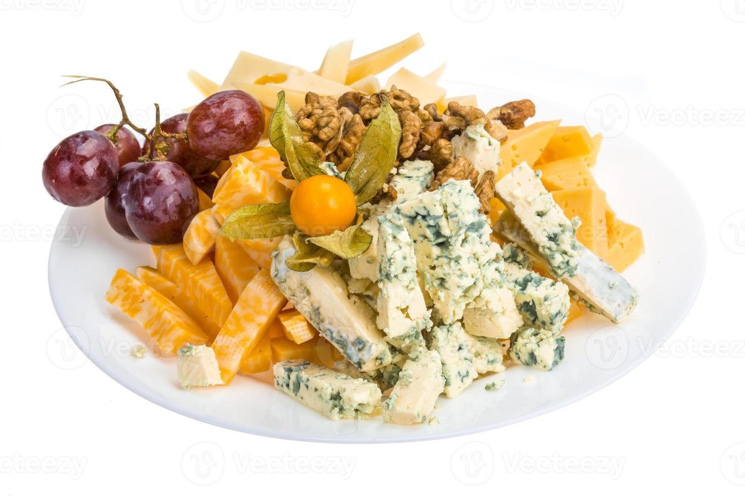 Cheese assortment photo