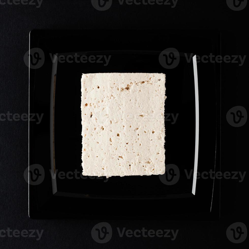 Tofu on Black photo