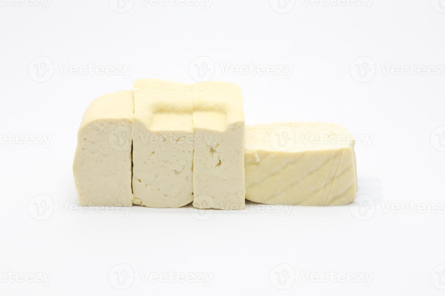 Raw Tofu cheese photo