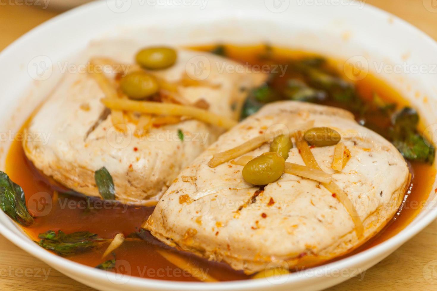 Stinky tofu(臭豆腐) photo
