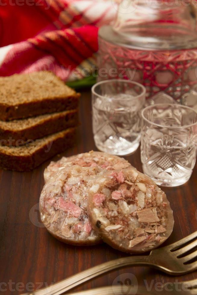 Snacks and Vodka photo