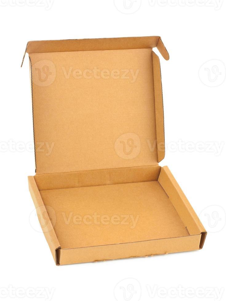 Empty cardboard box photo
