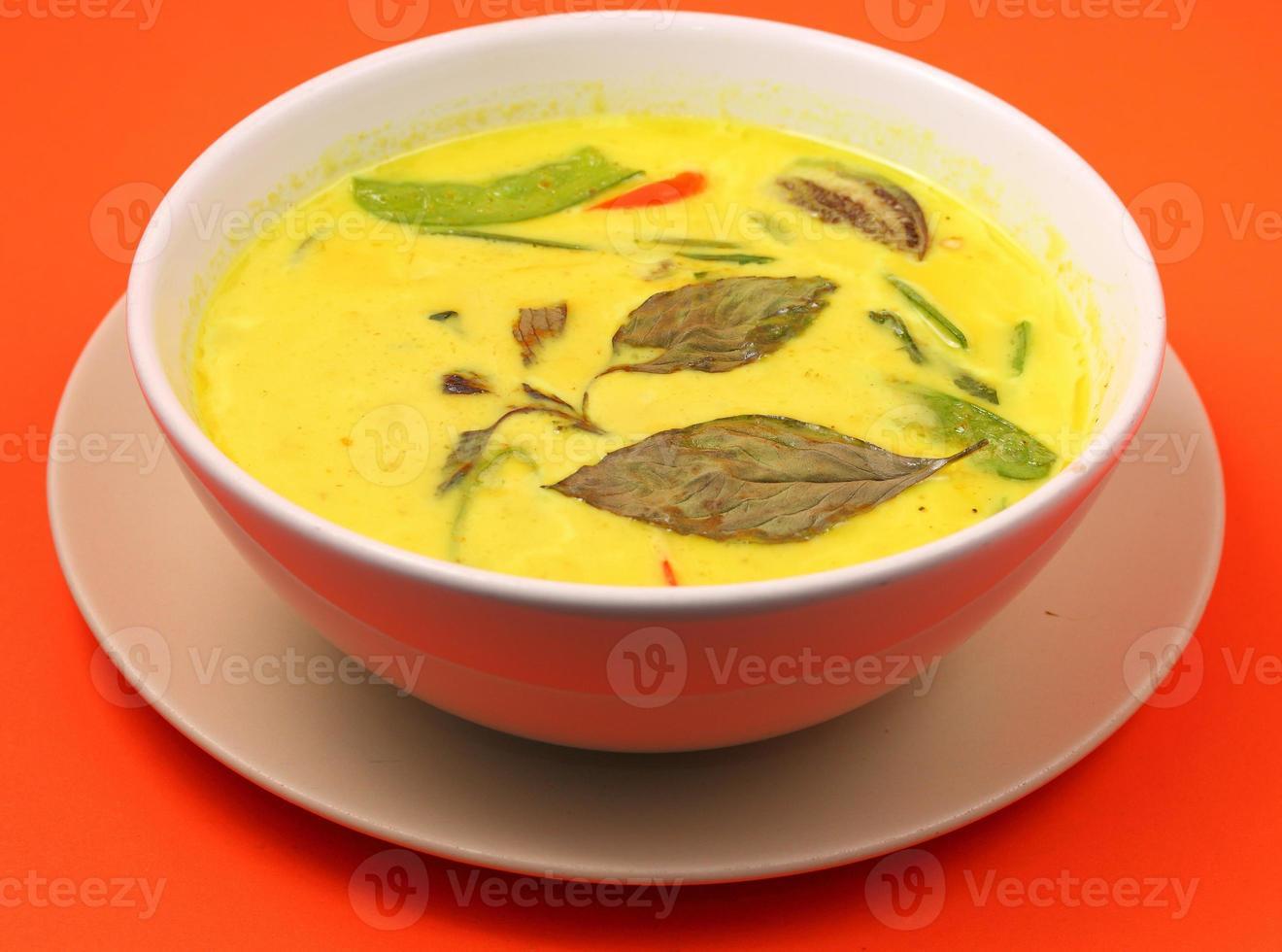Tailandia curry verde foto