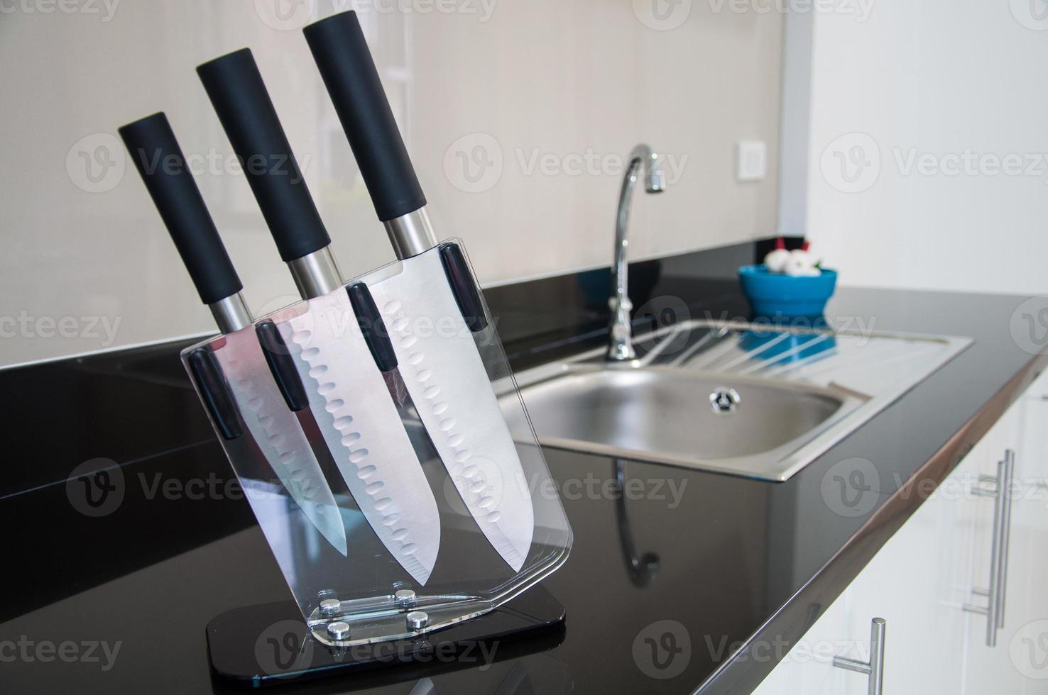 Kitchen knife. photo