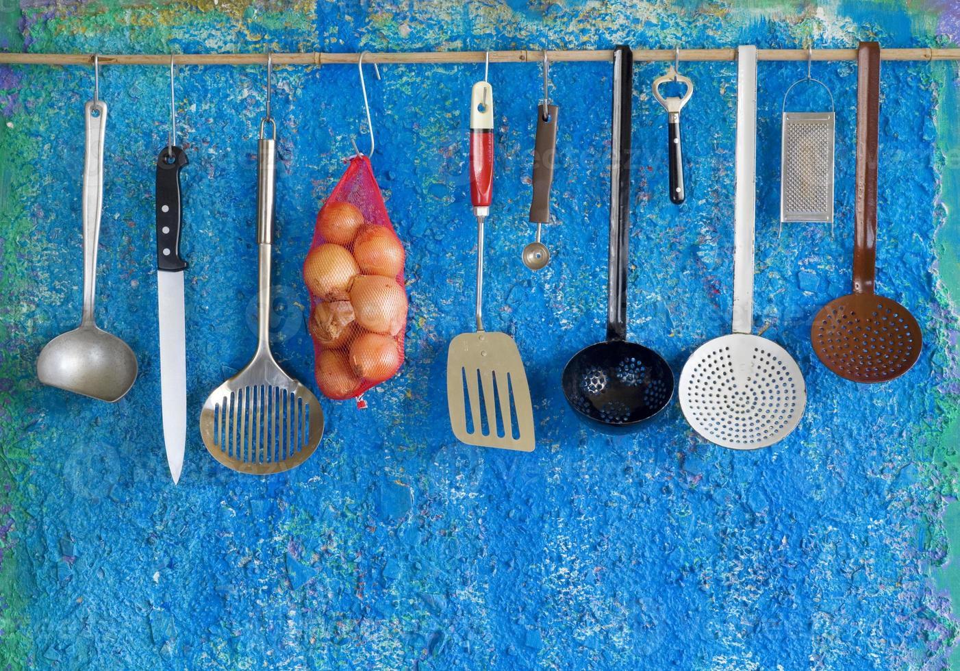utensilios de cocina foto