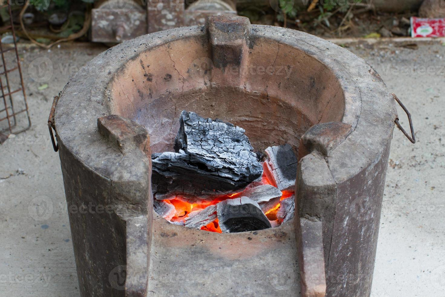 Brazier old oven photo
