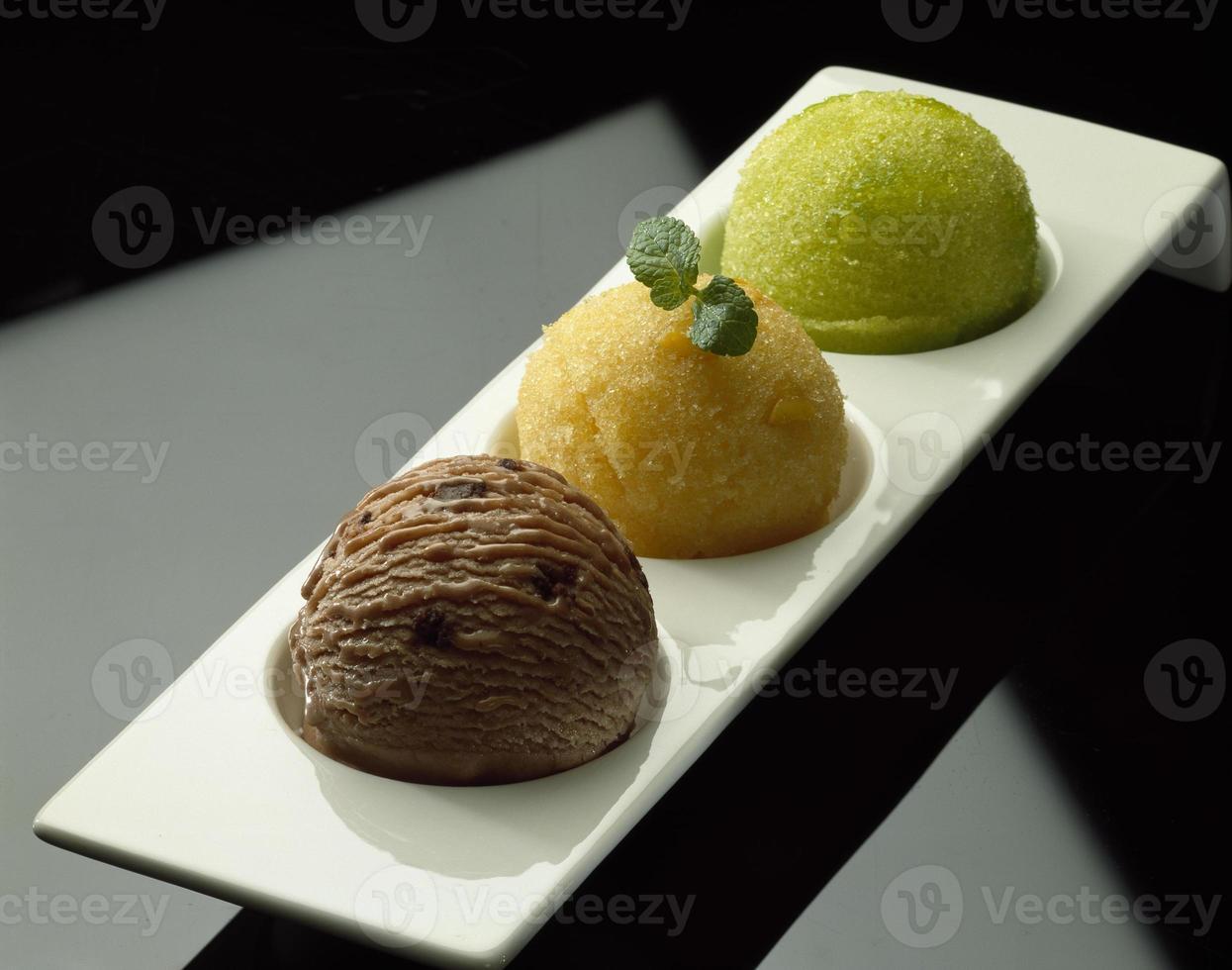 sorvete de trio foto