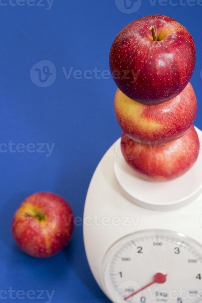 manzanas ligeras foto