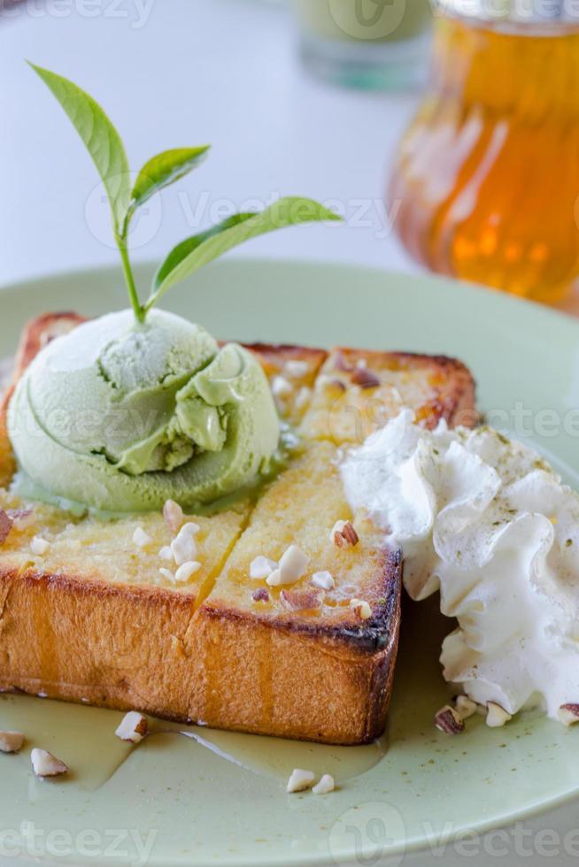 tostadas de miel foto