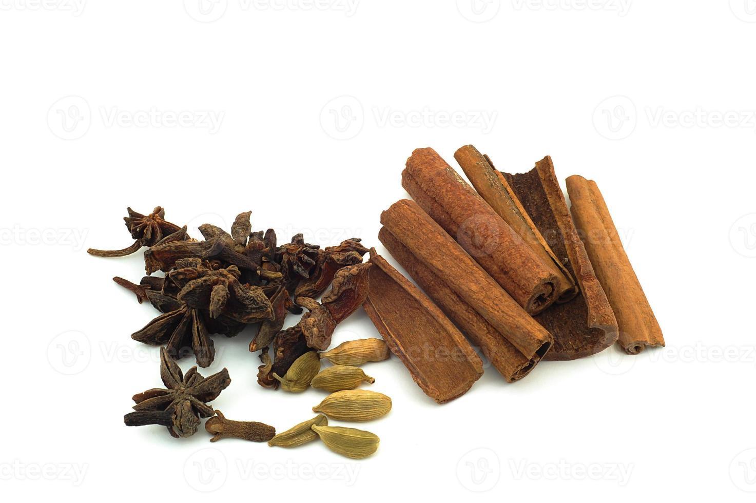 Malaysian recipe spices photo