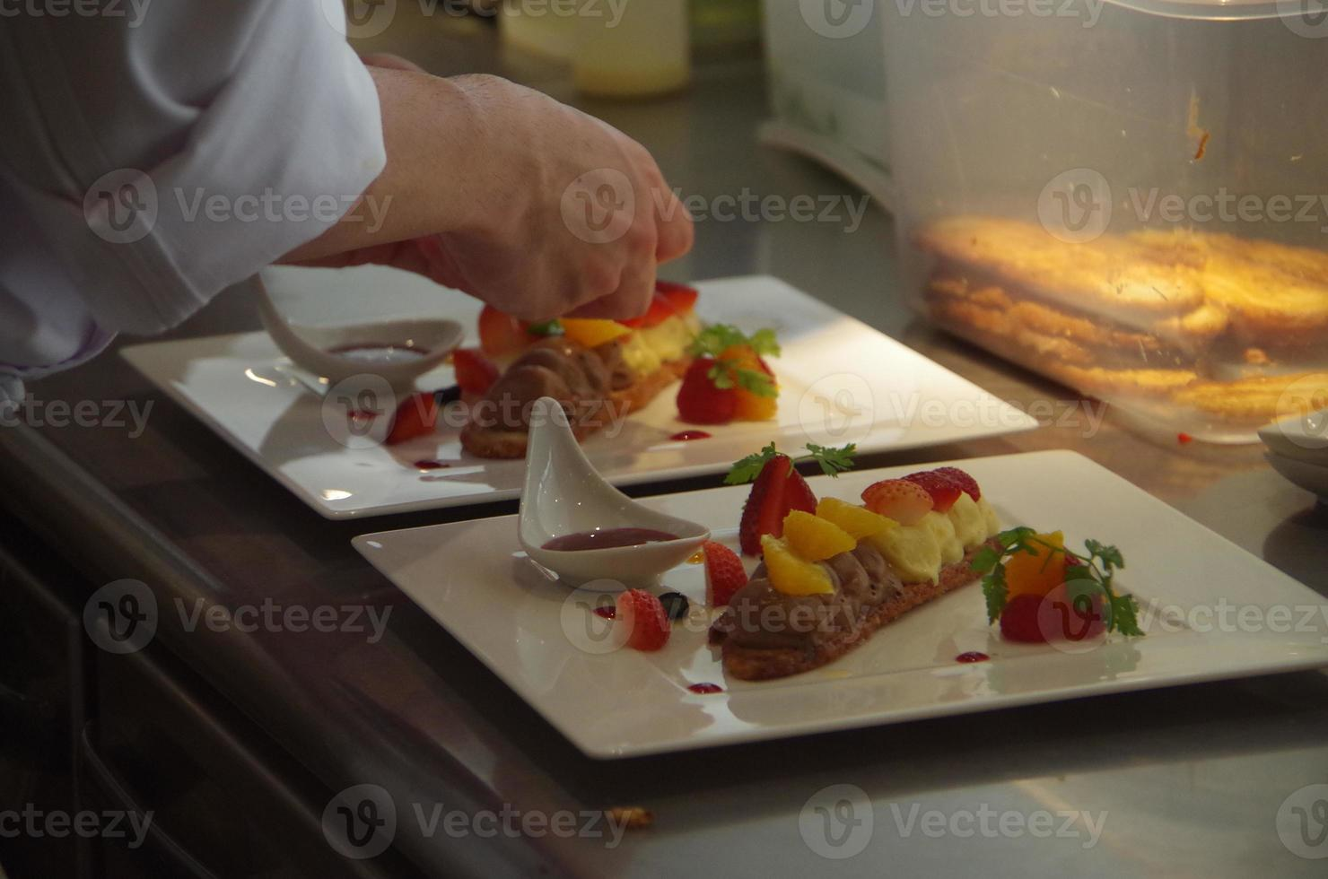 Pastry chef photo